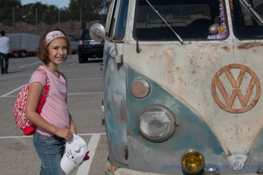 furgoneta hippie wolsvagen