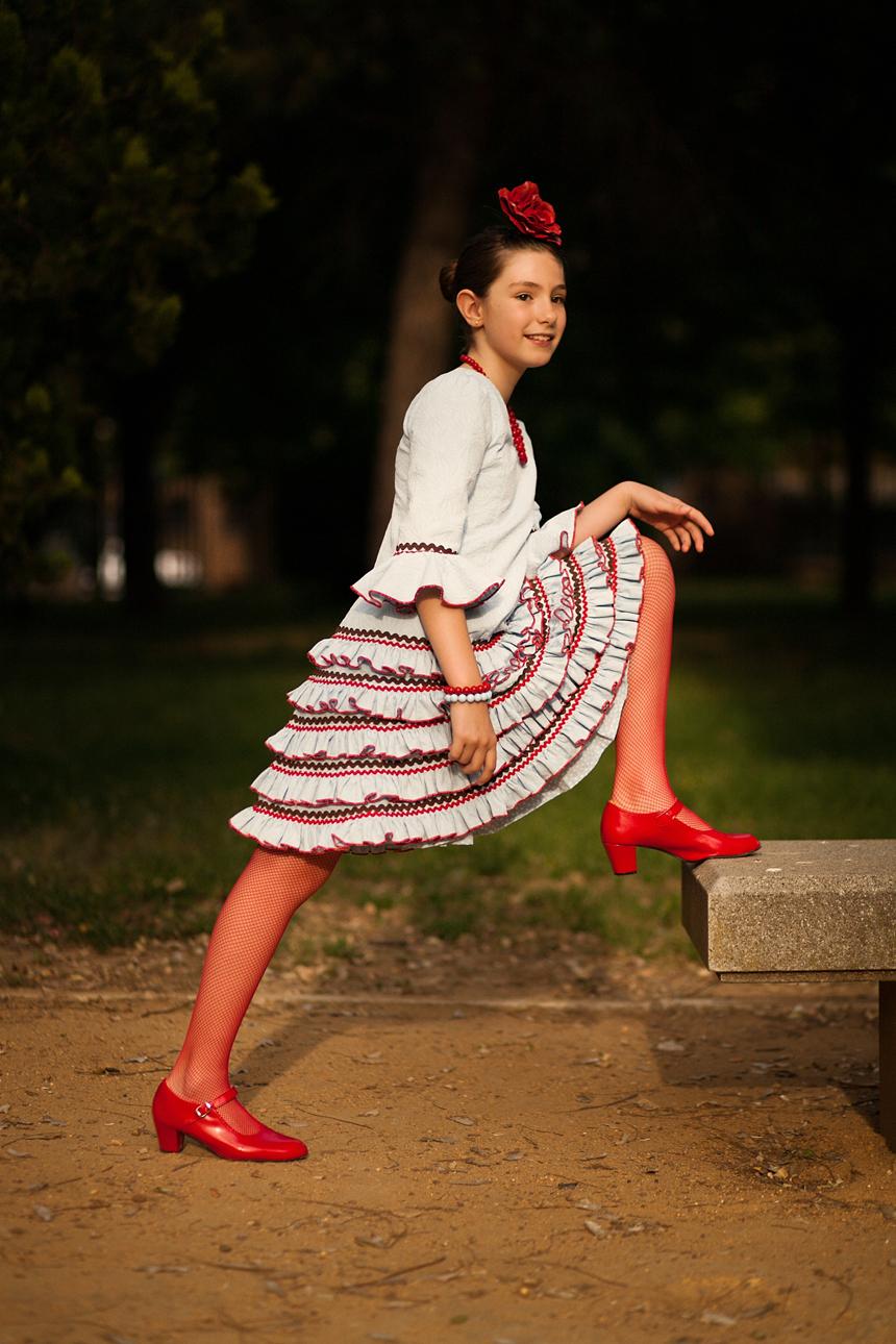 feria de Mayo Jerez vestido gitana