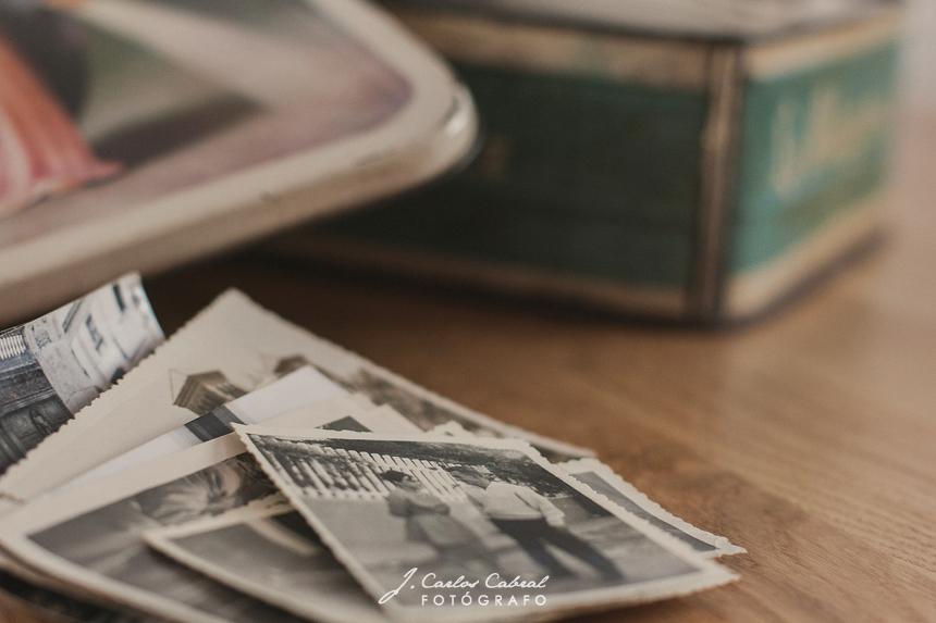 caja de fotos antigua