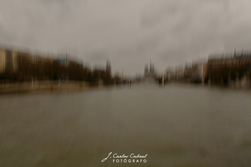 Rio Sena Paris Vista de Notre Dame
