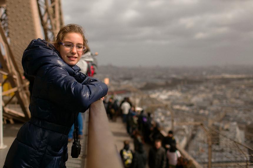 fotografia viaje paris Vista desde la torre eiffel