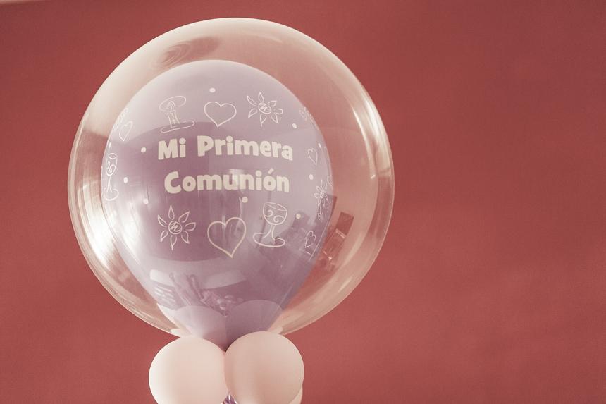 decoracion comunion globos